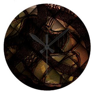 Present tense large clock