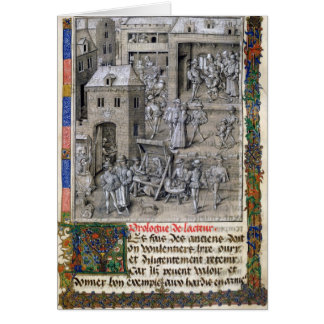 Presentation of the book to Philippe Le Bon Card