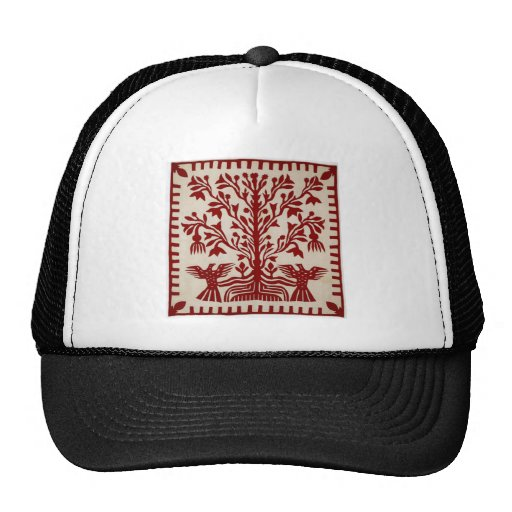 Presentation quilt from Oahu, c. 1855-1887 Trucker Hat
