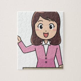 Presenter Jigsaw Puzzle