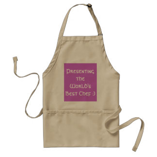 Presenting the World s Best Chef Apron