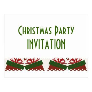 Presents Christmas Party Postcard