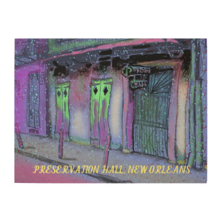 PRESERVATION HALL NEW ORLEANS ART