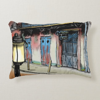 PRESERVATION HALL NEW ORLEANS by Slipperywindow Decorative Cushion