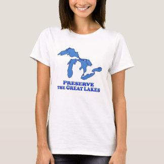 Preserve Great Lakes - Women's Basic T-Shirt