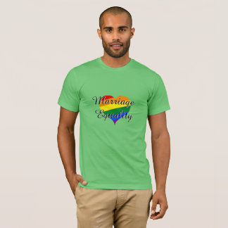 Preserve Marriage Equality pride t-shirt