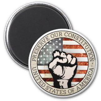 Preserve Our Constitution Refrigerator Magnets