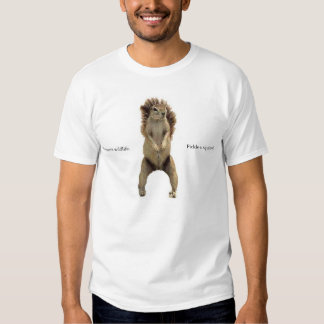 Preserve Wildlife. Pickle a squirrel. Tee Shirt