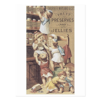 Preserves and Jellies Postcard