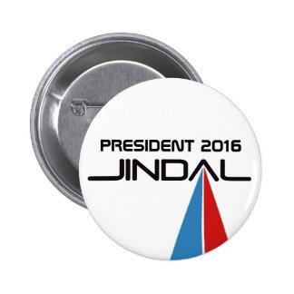President 2016 Bobby Jindal 6 Cm Round Badge