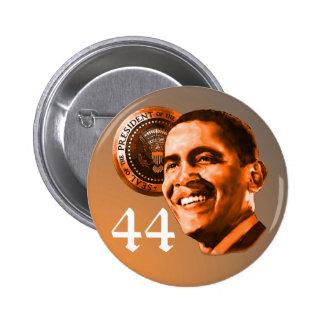 President 44 Barack Obama button