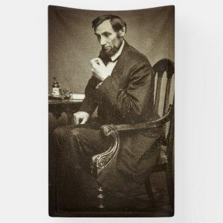 PRESIDENT ABRAHAM LINCOLN 1862 STEREOVIEW