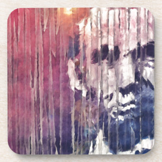 President Abraham Lincoln Abstract Coaster