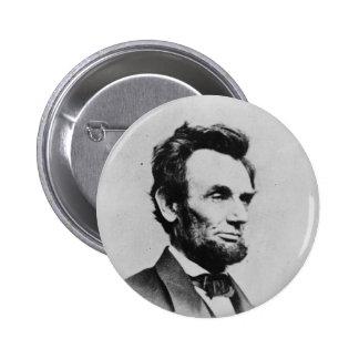 President Abraham Lincoln by Mathew B Brady Button