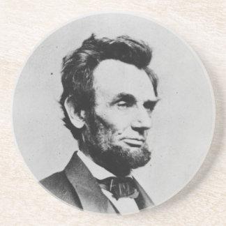 President Abraham Lincoln by Mathew B. Brady Coaster