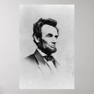 President Abraham Lincoln by Mathew B. Brady Poster