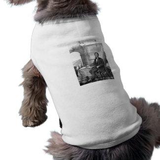 President Abraham Lincoln -- Civil War Dog T Shirt