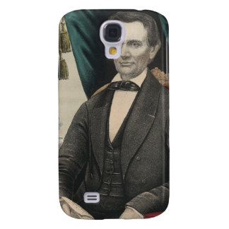 President Abraham Lincoln Color Portrait Kellogg Galaxy S4 Covers