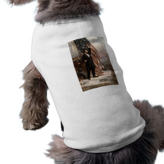 President Abraham Lincoln Giving A Speech Pet Clothing