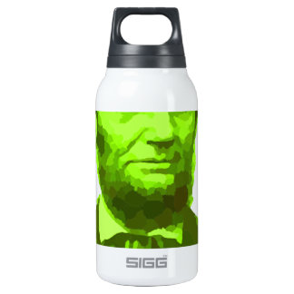 PRESIDENT ABRAHAM LINCOLN GREEN FACE PORTRAITGifts 0.3L Insulated SIGG Thermos Water Bottle
