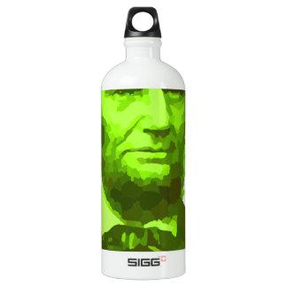 PRESIDENT ABRAHAM LINCOLN GREEN FACE PORTRAITGifts SIGG Traveller 1.0L Water Bottle