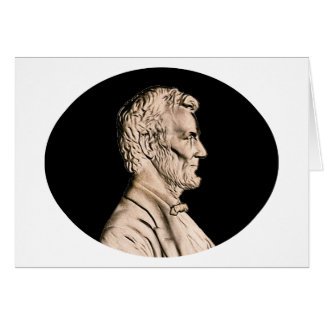 President Abraham Lincoln Greeting Card