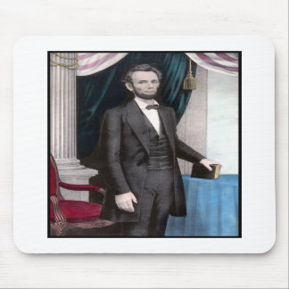 President Abraham Lincoln In Color Mousepad