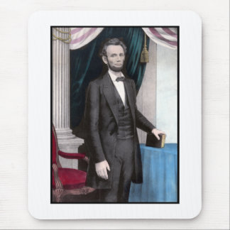 President Abraham Lincoln In Color Mouse Pad
