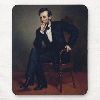 President Abraham Lincoln Painting Mouse Pad