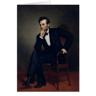 President Abraham Lincoln Portrait Card