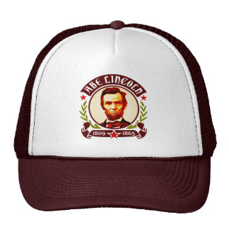 President Abraham Lincoln Portrait Trucker Hat