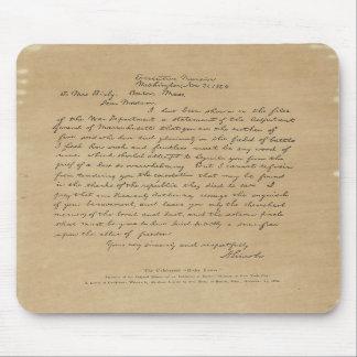 President Abraham Lincoln s Letter to Mrs Bixby Mousepad