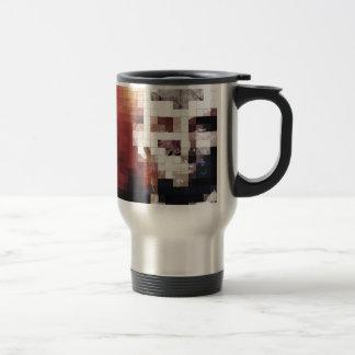 President Abraham Lincoln Stainless Steel Travel Mug