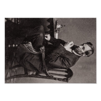 President Abraham Lincoln STEREOVIEW VINTAGE RARE Poster