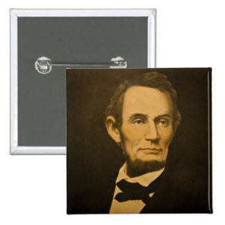 President Abraham Lincoln Vintage Engraving Pinback Buttons