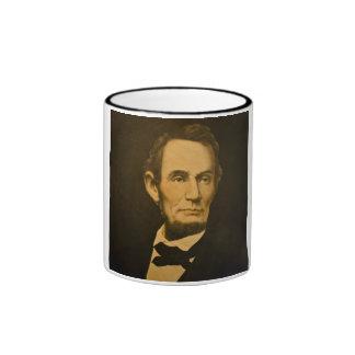 President Abraham Lincoln Vintage Engraving Mugs