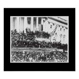 President Abraham Lincoln's 2nd Inaugural Posters