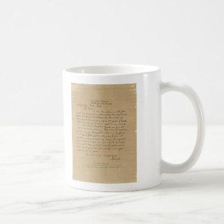President Abraham Lincoln's Letter to Mrs. Bixby Basic White Mug
