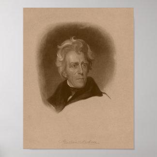 President Andrew Jackson -- American History Poster