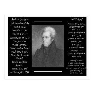 President Andrew Jackson Postcard