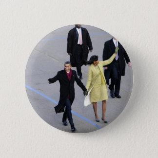 President Barack & Michele Obama 6 Cm Round Badge