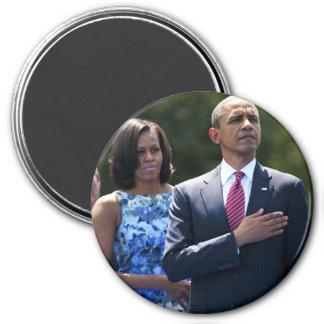 President Barack & Michele Obama Magnet