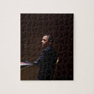 President Barack Obama 12 Jigsaw Puzzle