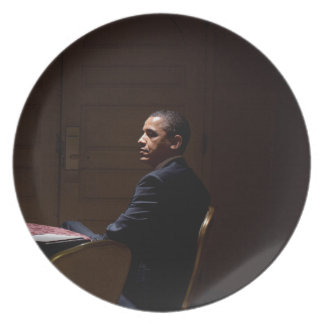 President Barack Obama 12 Plate