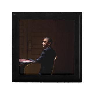 President Barack Obama 12 Small Square Gift Box