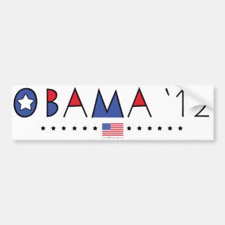 President Barack Obama 2012 Gear Bumper Sticker