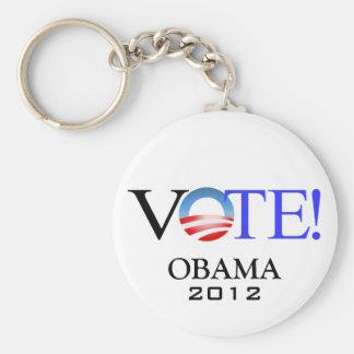 President Barack Obama 2012 Key Chains