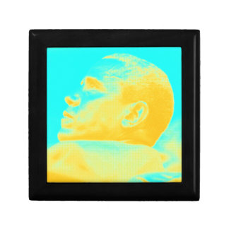 President Barack Obama 4 sketch Small Square Gift Box
