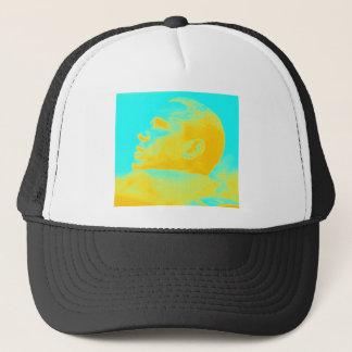 President Barack Obama 4 sketch Trucker Hat