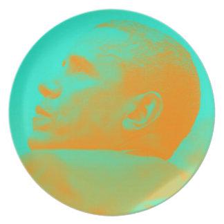 President Barack Obama 4aa Plate